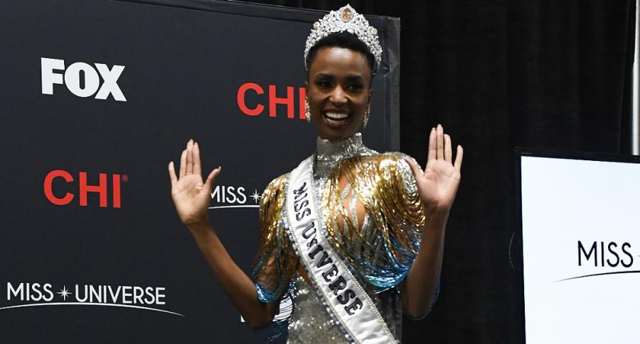 Zozibini Tunzi, Miss Universo.