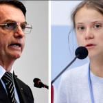 Bolsonaro y Thunberg