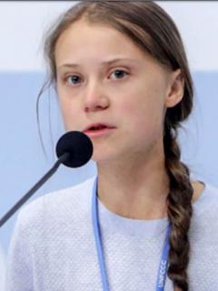 """Presidente Bolsonaro se refiere a Greta Thunberg como una """"mocosa"""""""
