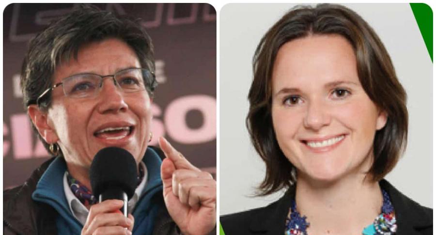 Claudia López y Carolina Urrutia