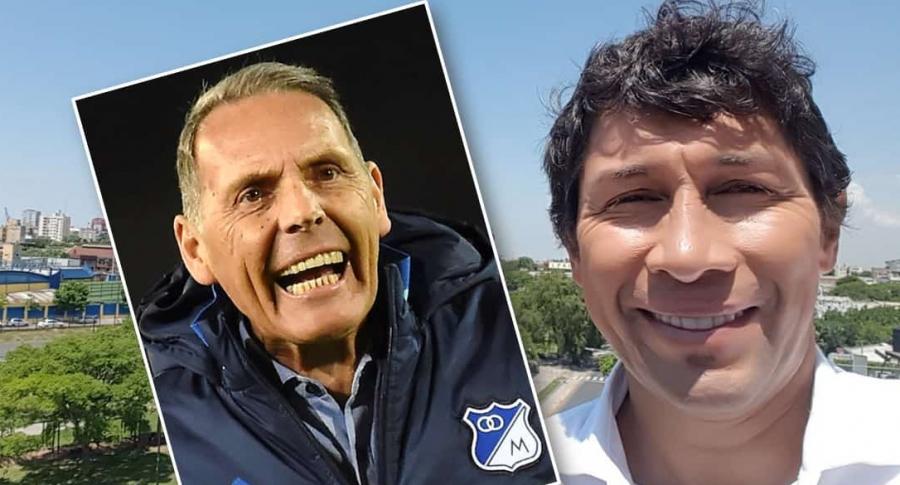 Miguel Ángel Russo y Jorge Bermúdez