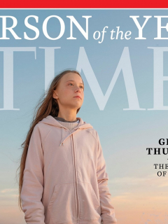 Greta Thunberg 'peinó' inteligentemente a Trump, luego de comentarios del presidente