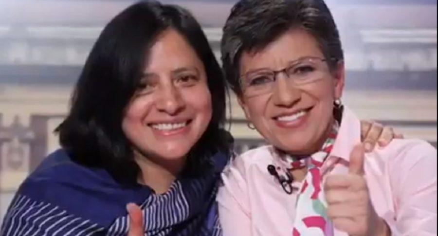 Adriana Córdoba y Claudia López