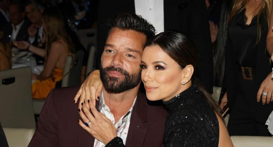 Ricky Martin y Eva Longoria