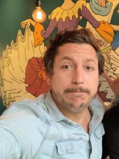 Alejandro Riaño, humorista, y Fanny Lu, cantante.