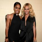Kelly Rowland y Beyoncé