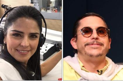 Claudia Palacios y Alejandro Riaño como 'Juanpis González'