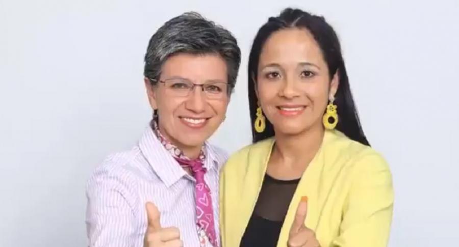 Claudia López y Xinia Navarro