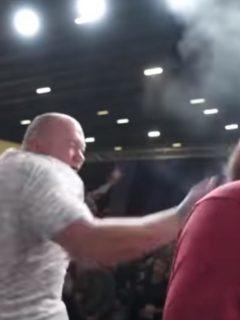 [Video] Por primera vez noquean a Vasili Kamotski, campeón mundial de las cachetadas