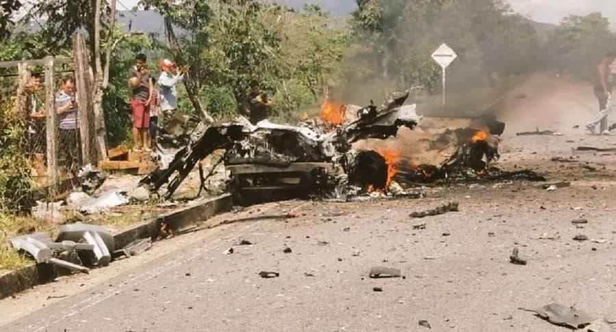 Carro bomba en Boyacá