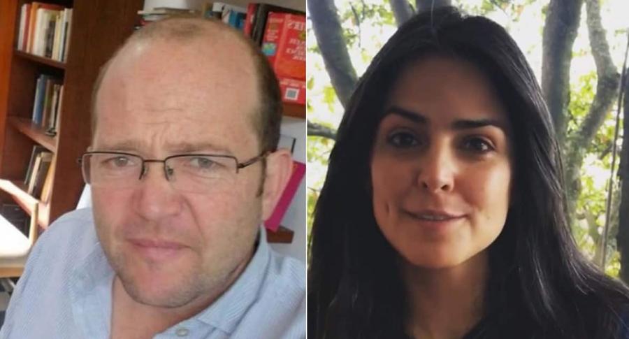 Daniel Samper Ospina y Claudia Palacios