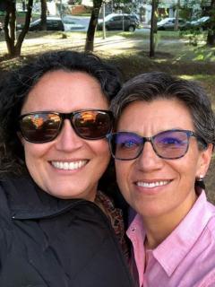 ¡Suenan campanas! Claudia López y Angélica Lozano se casan