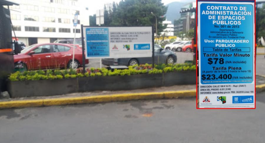 Parqueadero Bogotá