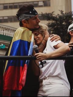 """""""Llora a tus hijos; te vas a morir"""": Adriana Lucía denuncia amenazas y muestra las pruebas"""