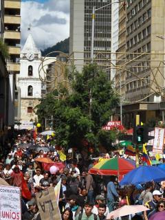 ¿Qué tan descabellado es que desde Rusia y Venezuela impulsan protestas del paro nacional?