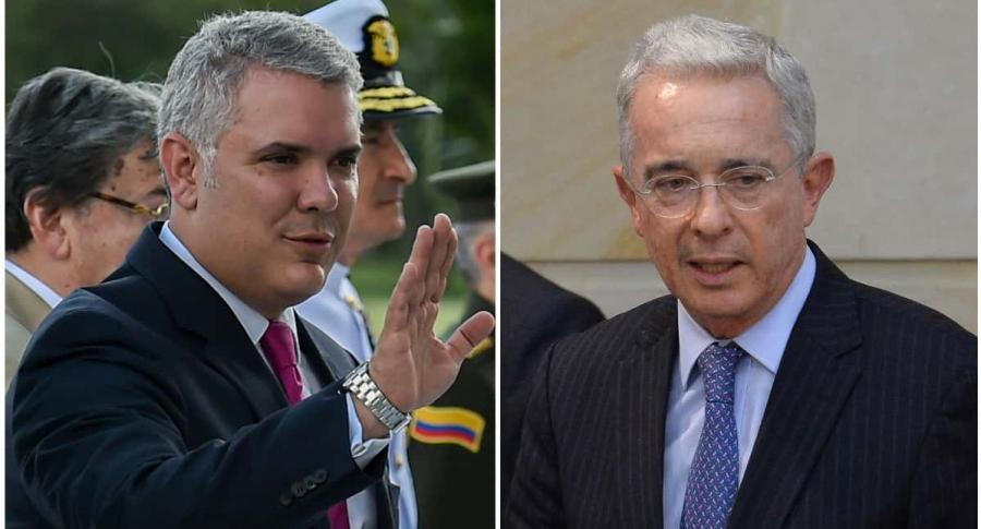Iván Duque / Álvaro Uribe Vélez