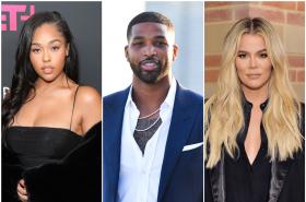 Jordyn Woods, Tristan Thompson y Khloé Kardashian