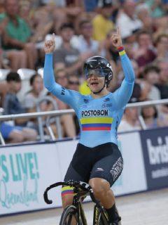 Colombia consigue histórico doblete en Copa Mundo de ciclismo de pista