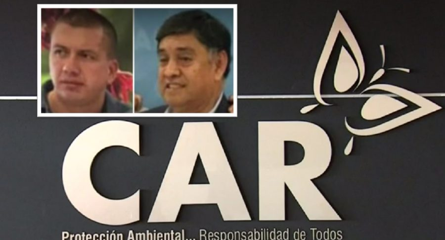 Funcionarios de la CAR Cundinamarca.