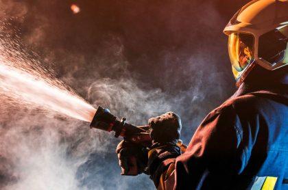 Imagen de un bombero