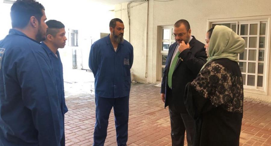 Colombianos presos en Catar