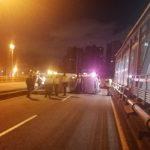 Accidente en Av. Suba