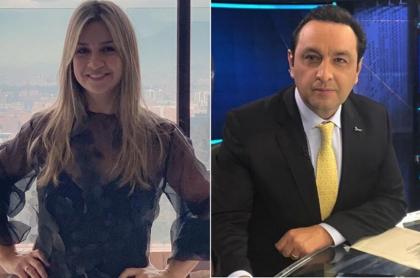 Vicky Dávila y Jorge Alfredo Vargas, periodistas.