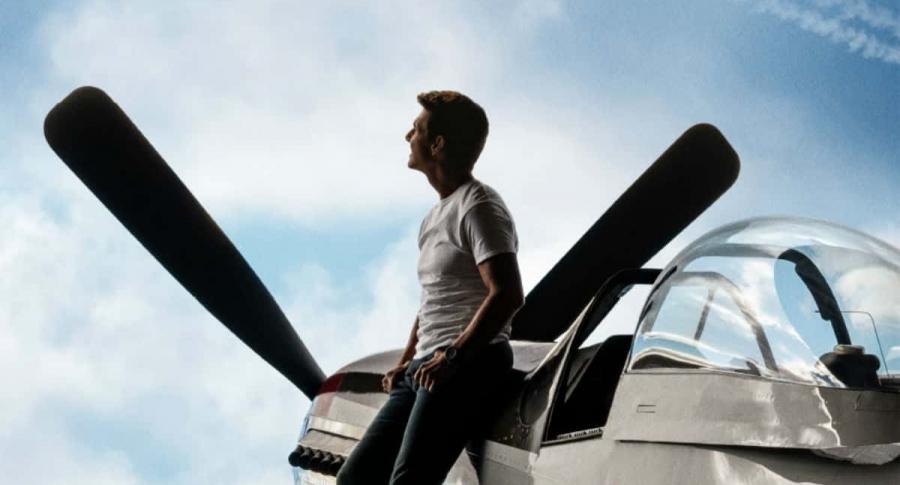 Tom Cruise en 'Top Gun Maverick'