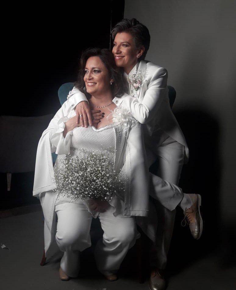 Angéliza Lozano y Claudia López