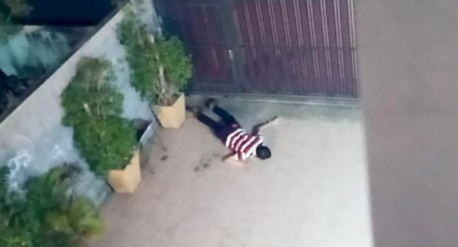 Ladrón caído.