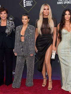 Kris Jenner, Kourtney, Khloé y Kim Kardashian