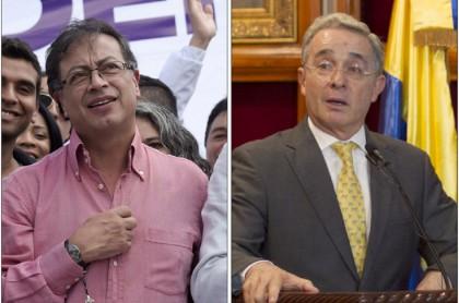 Los senadores Gustavo Petro y Álvaro Uribe, de acuerdo en pedir cuarentena