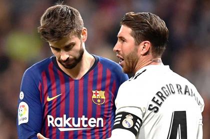 Gerard Piqué y Sergio Ramos