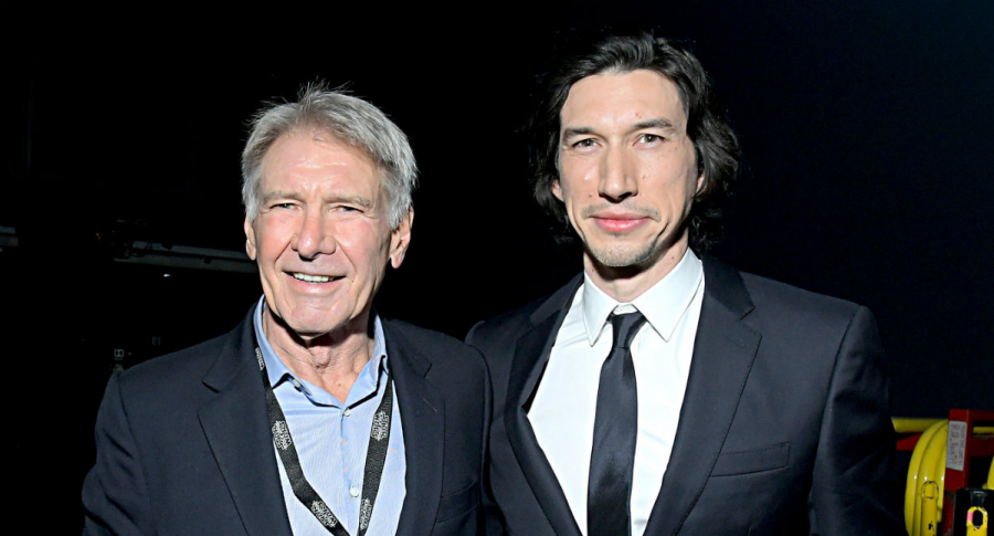 Harrison Ford Y Adam Driver