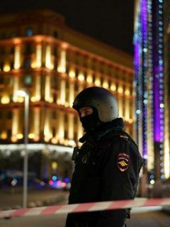 Policía Moscú