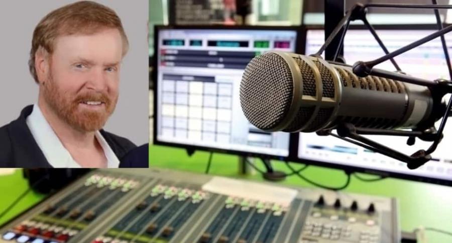 Locutor de radio en EE. UU.