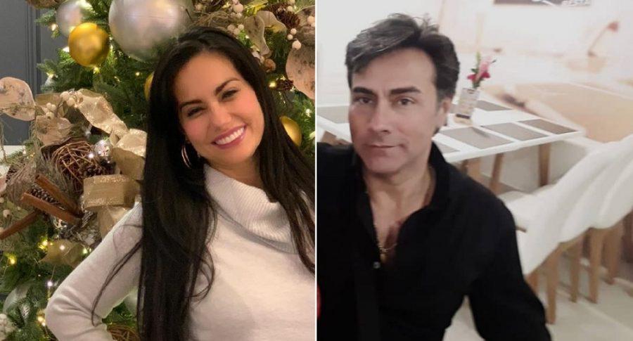 Haychelt Benitorevollo, psicóloga, y su ex Mauro Urquijo, actor.