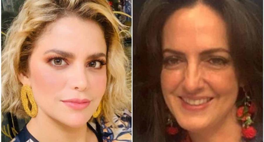 Adriana Lucía y María Fernanda Cabal