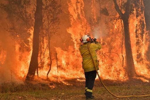 Incendios en Austrañia