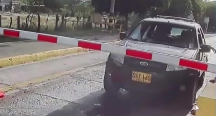 Camioneta de pareja desaparecida