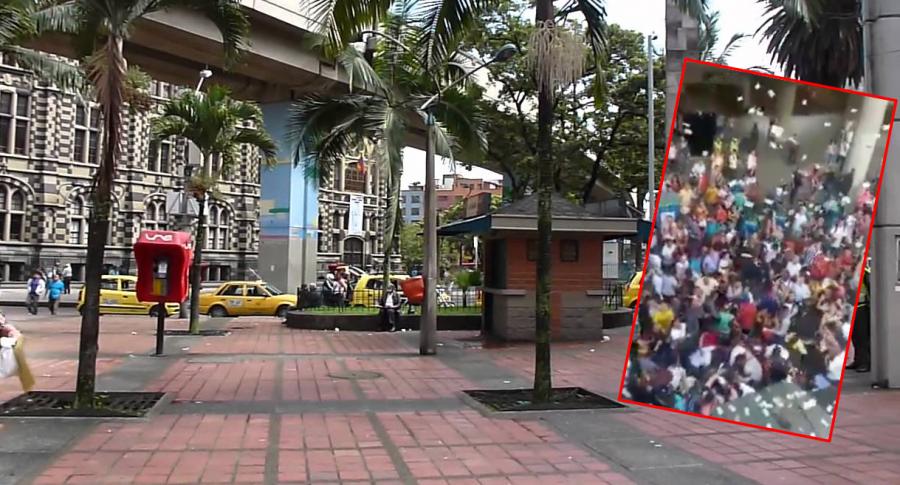 Parque Berrío Medellin