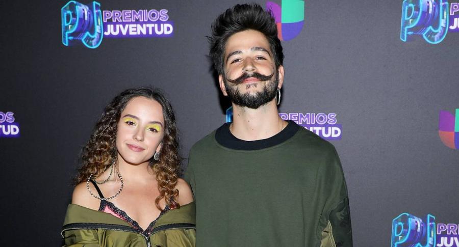 Evaluna Montaner y Camilo Echeverry, cantantes.