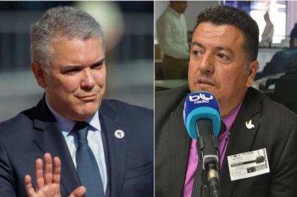 Duque y Hugo Ospina