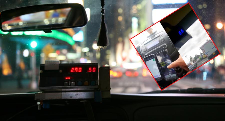 Taximetro adulterado