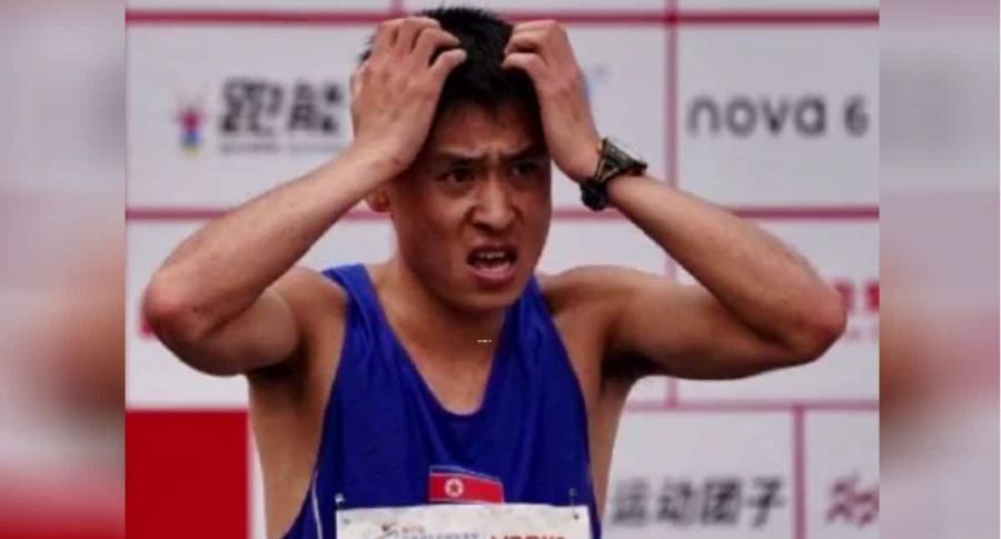Maratonista pierde carrera.