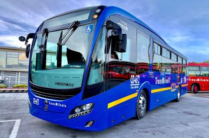 Bus eléctrico del SITP