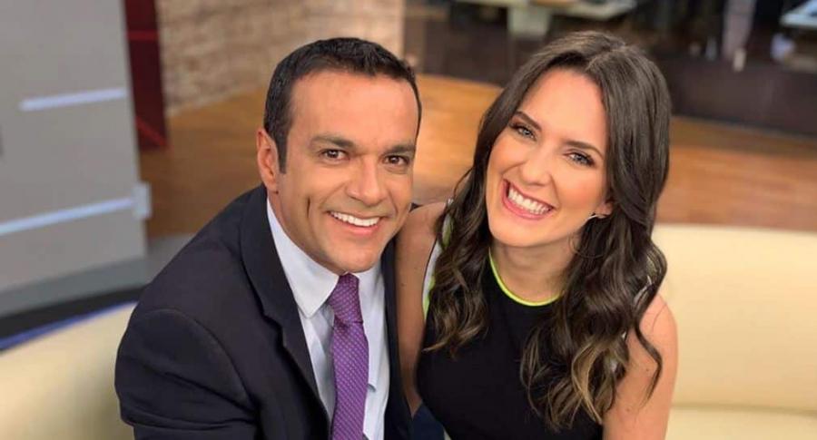 Juan Diego Alvira y María McCausland, presentadores.