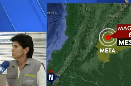 Martha Calvache, directora del Instituto de Servicio Geológico Colombiano