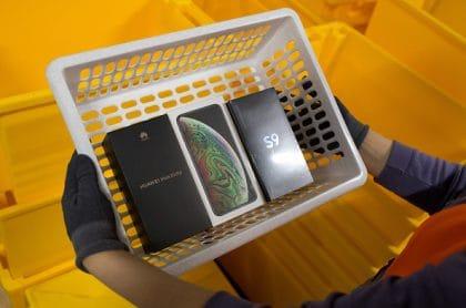Samsung, Apple y Huawei
