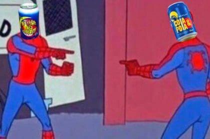 Meme por presunto plagio de la Cola y Pola.